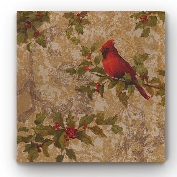 Cardinal II -Gallery Wrapped Canvas