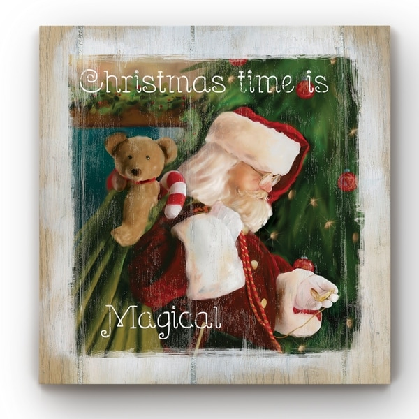 Time for Santa -Gallery Wrapped Canvas