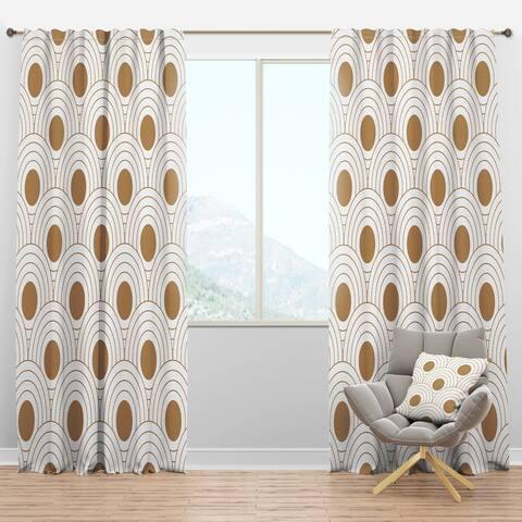 Carson Carrington Labacka Mid-Century Modern Curtain Panels
