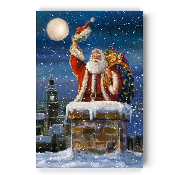Midnight Visit -Gallery Wrapped Canvas