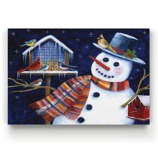 Snow Friends  -Gallery Wrapped Canvas