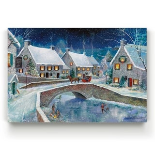 Warm Winter Wonderland  -Gallery Wrapped Canvas