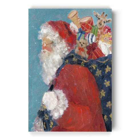 Santa's Ready -Gallery Wrapped Canvas
