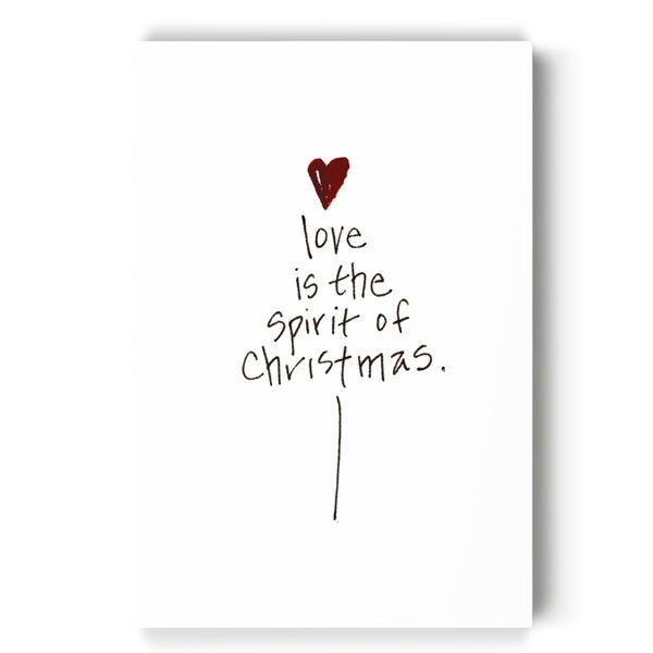 Love Is Spirit B.W. -Gallery Wrapped Canvas