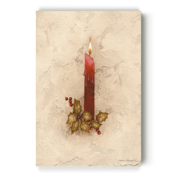 Candle -Gallery Wrapped Canvas