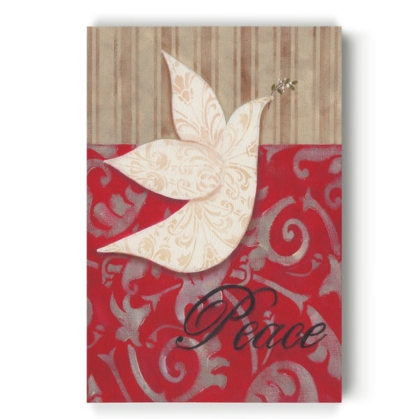 Peace Dove -Gallery Wrapped Canvas