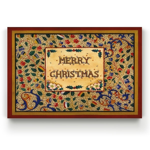 Xmas Sign -Gallery Wrapped Canvas
