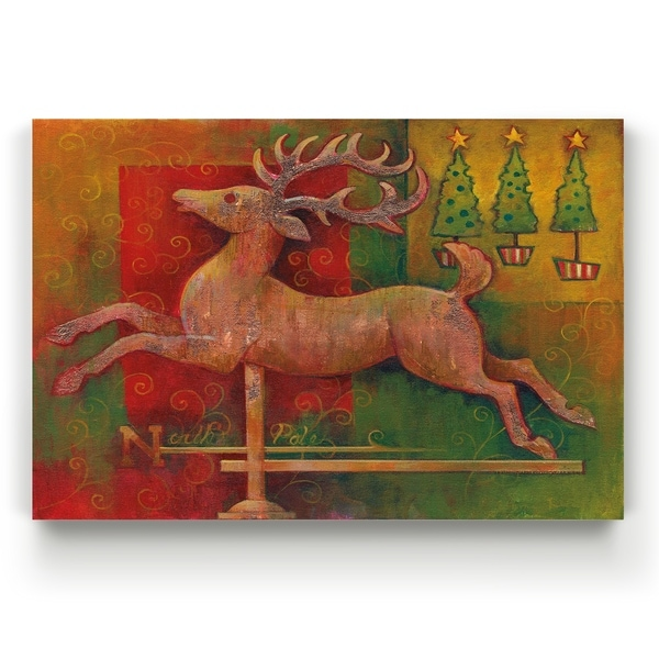 Deer -Gallery Wrapped Canvas