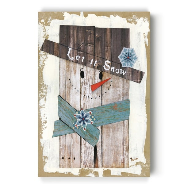 Let It Snow -Gallery Wrapped Canvas
