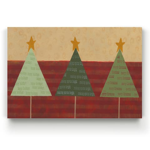 Merry Messages -Gallery Wrapped Canvas