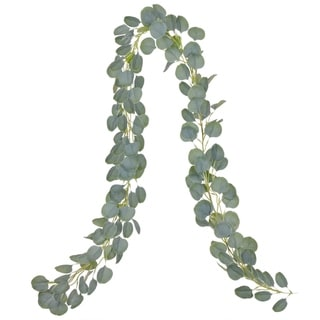 Artificial Eucalyptus Garland Faux Silk Eucalyptus Leaves