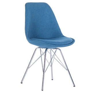 Link to Porthos Home Upholstered Dining Chair with Chrome Metal Legs Similar Items in Dining Room & Bar Furniture
