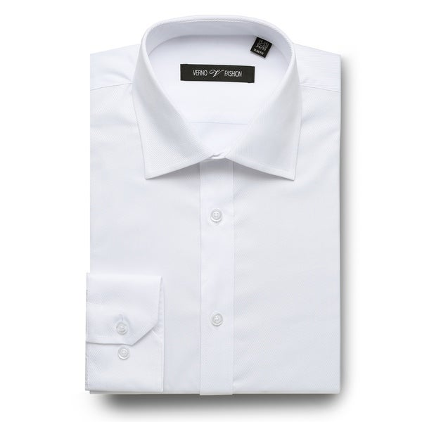 Mens Slim Fit Long Sleeve Solid Dress Shirts. Opens flyout.