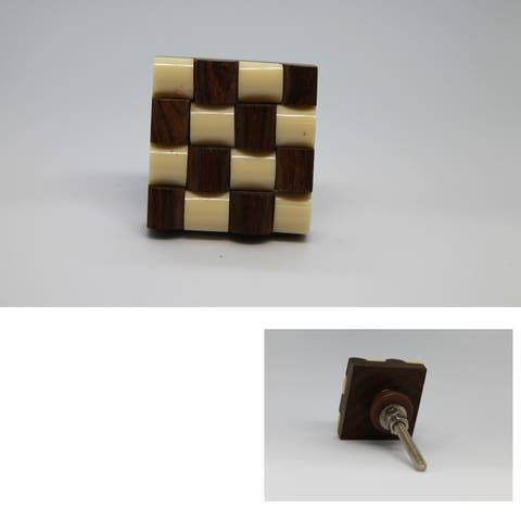 Braided Square Knob