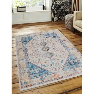 Crossweave Traditional Oriental Carpet Turkish Over Dyed Area Rug