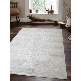 Traditional Oriental Crossweave Carpet Turkish Over Dyed Area Rug