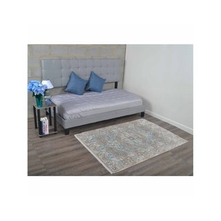 Medallion Traditional Crossweave Over Dyed Oriental Turkish Area Rug