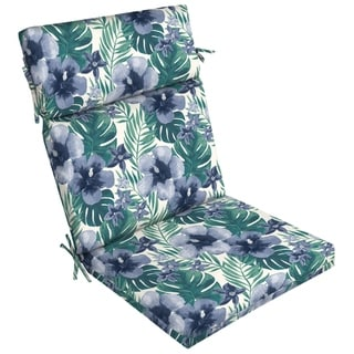 Arden Selections Salome Tropical Outdoor Dining Chair Cushion