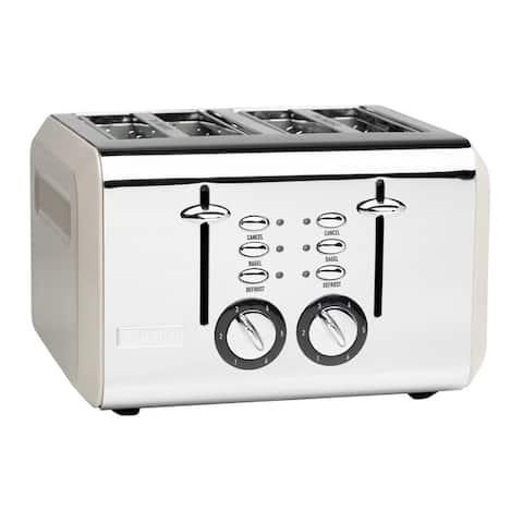 Haden Cotswold 4-Slice, Wide Slot Toaster