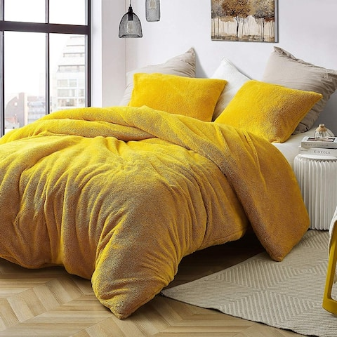 Coma Inducer Duvet Cover - Teddy Bear - Ochre