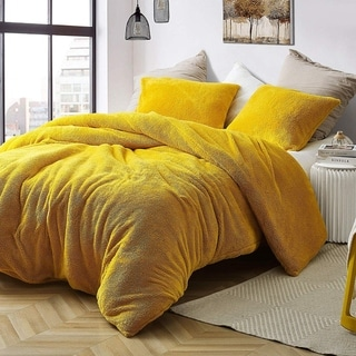 Link to Coma Inducer Duvet Cover - Teddy Bear - Ochre Similar Items in Duvet Covers & Sets