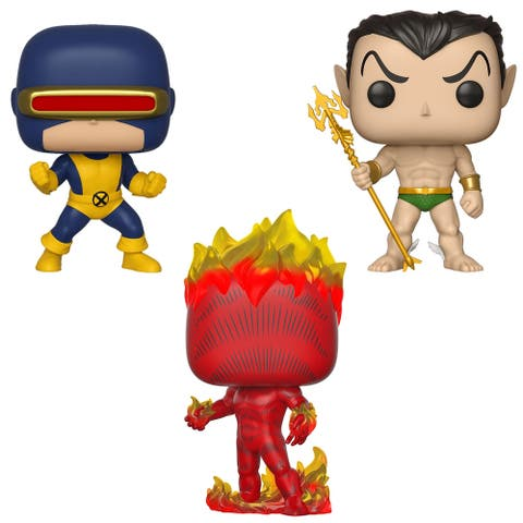 Funko POP! Marvel First Appearance Collectors Set 1 - Cyclops, Namor, Human Torch