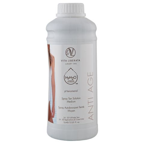 Vita Liberata Anti-Age Spray Tan Solution 33.81 fl oz / 1 Liter Medium