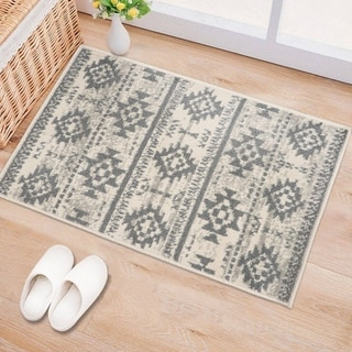 Vintage Boho Tribal Area Rug