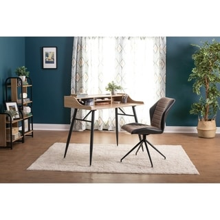 Shop Calico Designs Adelaide Swivel Home Office Accent