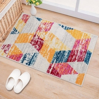 Modern Geometric Casual Area Rug