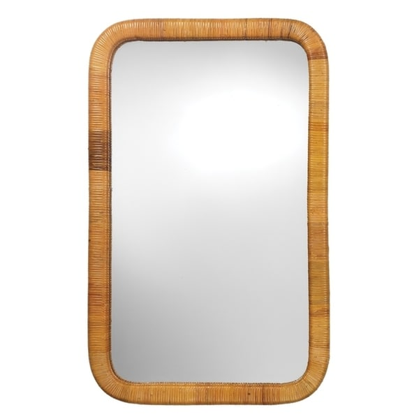 The Curated Nomad Coastal Rectangular Wall Mirror