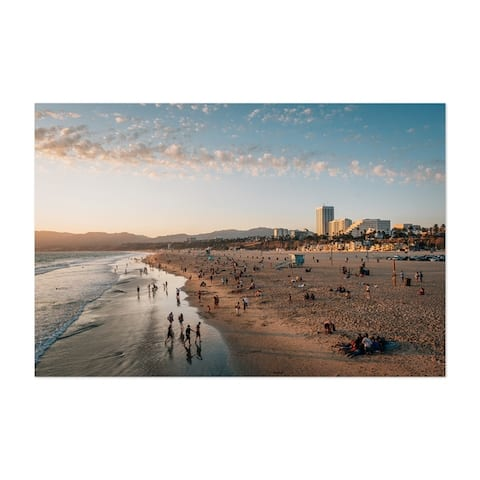 Noir Gallery Santa Monica California Beach Photo Unframed Art Print/Poster