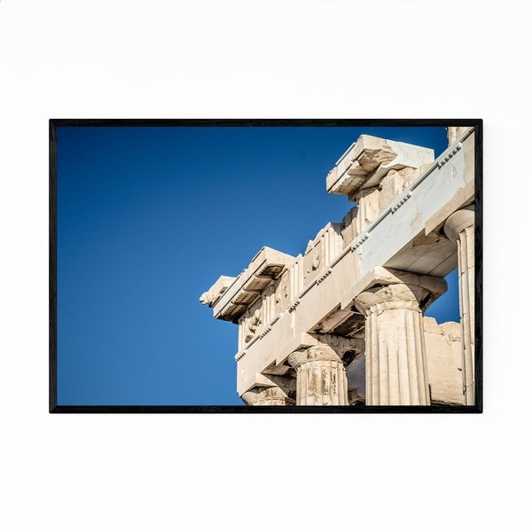 Noir Gallery Athens Greece Architecture Urban Framed Art Print
