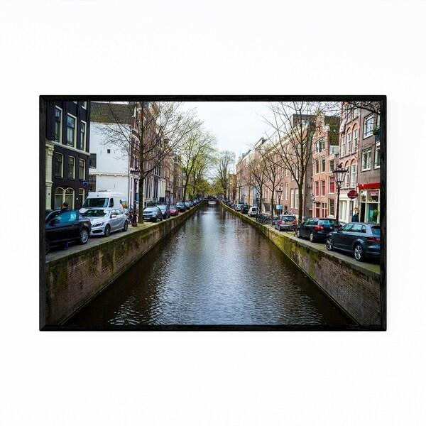 Noir Gallery Amsterdam Netherlands Urban Photo Framed Art Print
