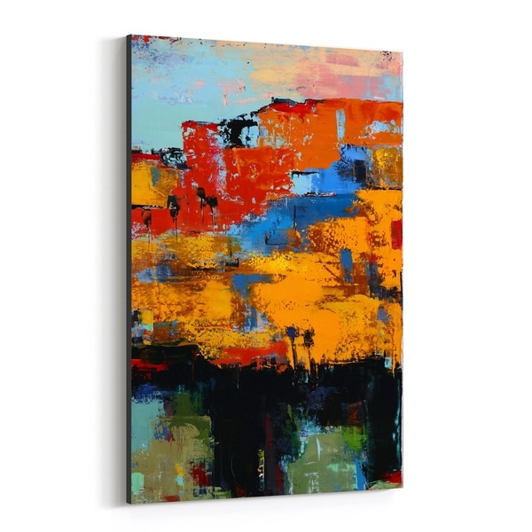 Noir Gallery Abstract Painting Canvas Wall Art Print