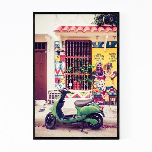 Noir Gallery Cartagena Colombia Photo Framed Art Print