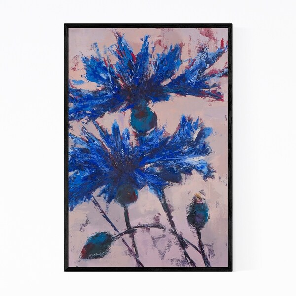 Noir Gallery Floral Botanical Painting Framed Art Print