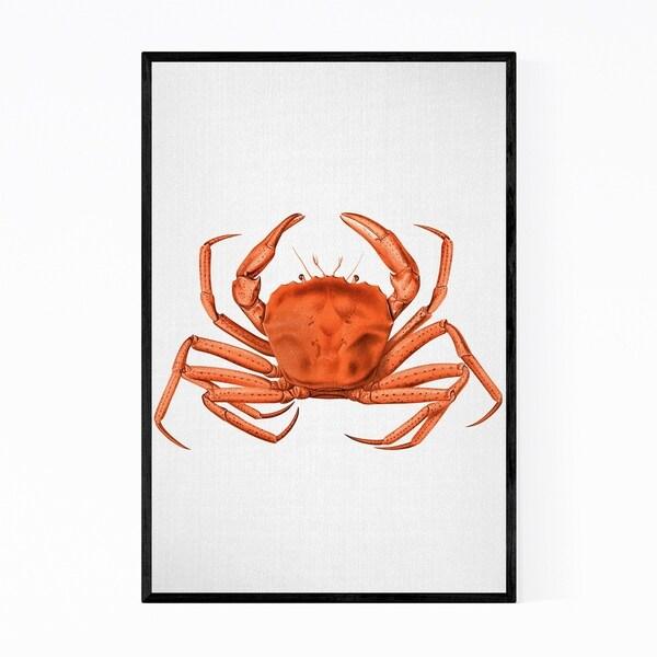 Noir Gallery Watercolor Animals Crabs Framed Art Print