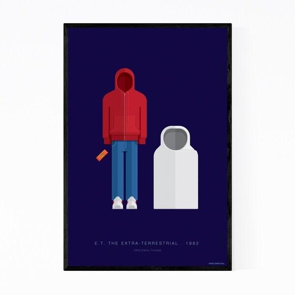 Noir Gallery E. T. The Extra-Terrestrial Framed Art Print