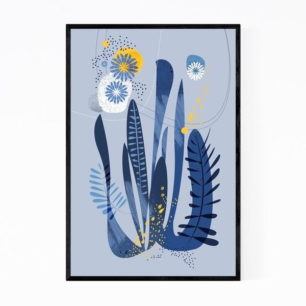 Noir Gallery Abstract Nature Floral Botanical Framed Art Print