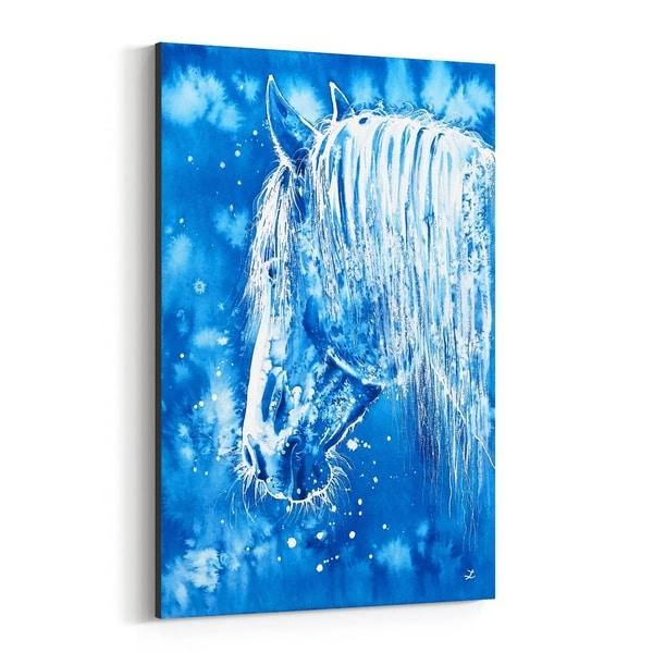 Noir Gallery Animal Horse Painting Canvas Wall Art Print