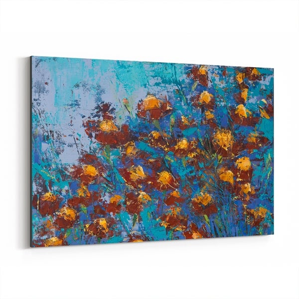 Noir Gallery Floral Botanical Painting Canvas Wall Art Print