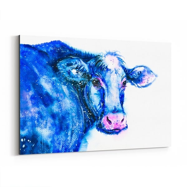 Noir Gallery Animal Cow Painting Canvas Wall Art Print
