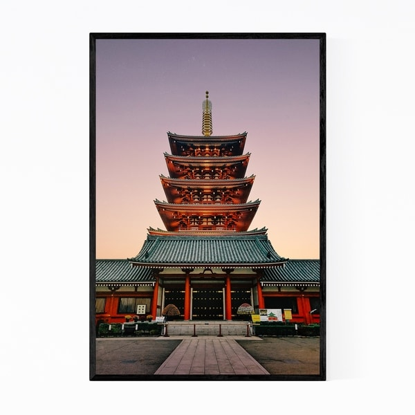 Noir Gallery Tokyo Japan Architecture Photo Framed Art Print