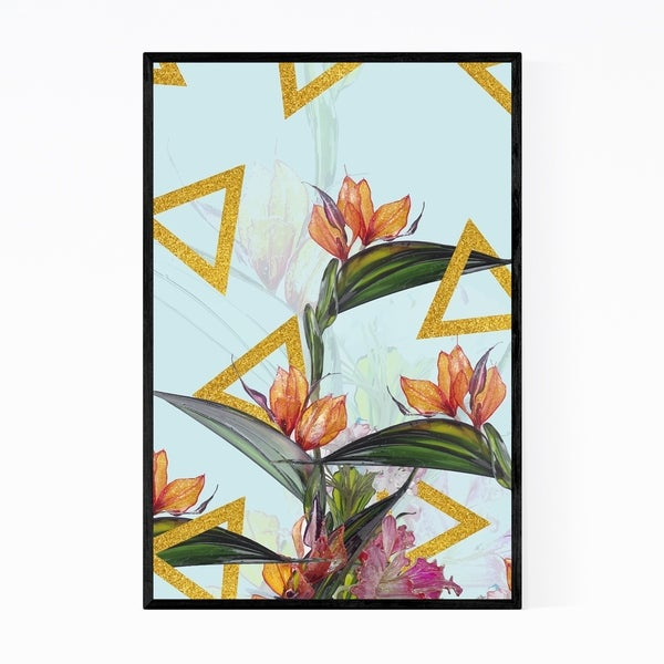 Noir Gallery Floral Botanical Patterns Framed Art Print