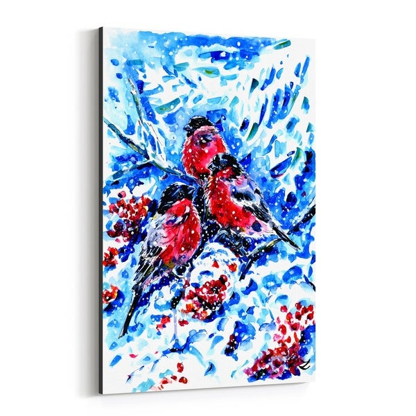 Noir Gallery Animal Winter Painting Canvas Wall Art Print