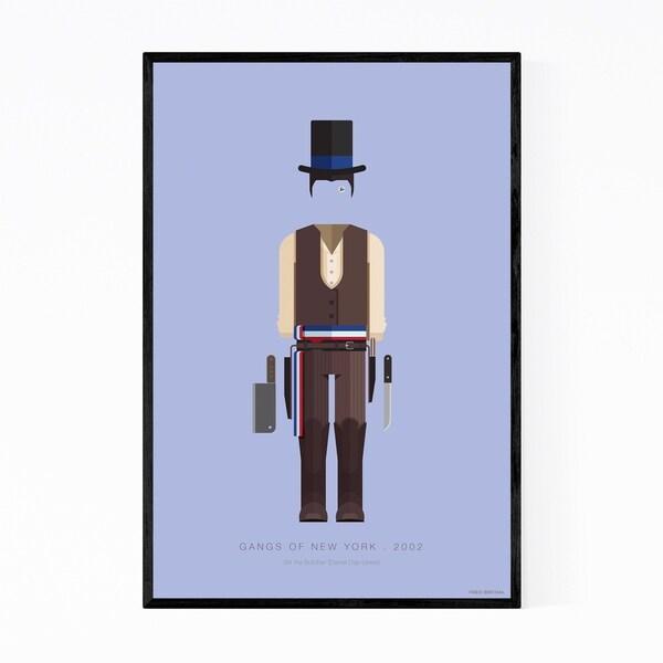 Noir Gallery Gangs Of New York Illustration Framed Art Print