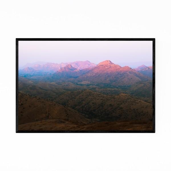 Noir Gallery Udaipur India Mountains Photo Framed Art Print