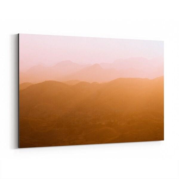 Noir Gallery Udaipur India Mountains Photo Canvas Wall Art Print