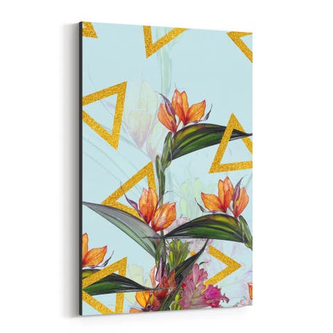 Noir Gallery Floral Botanical Patterns Canvas Wall Art Print